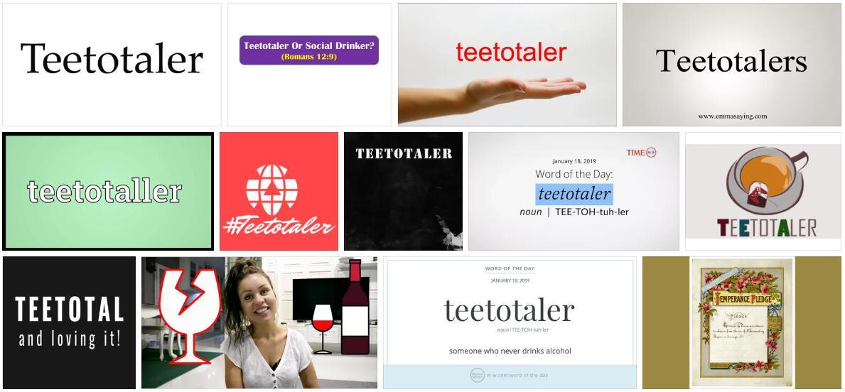 Teetotaler